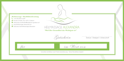 Alexandra Strallhfoer Massage Gratkorn – Graz Umgebung